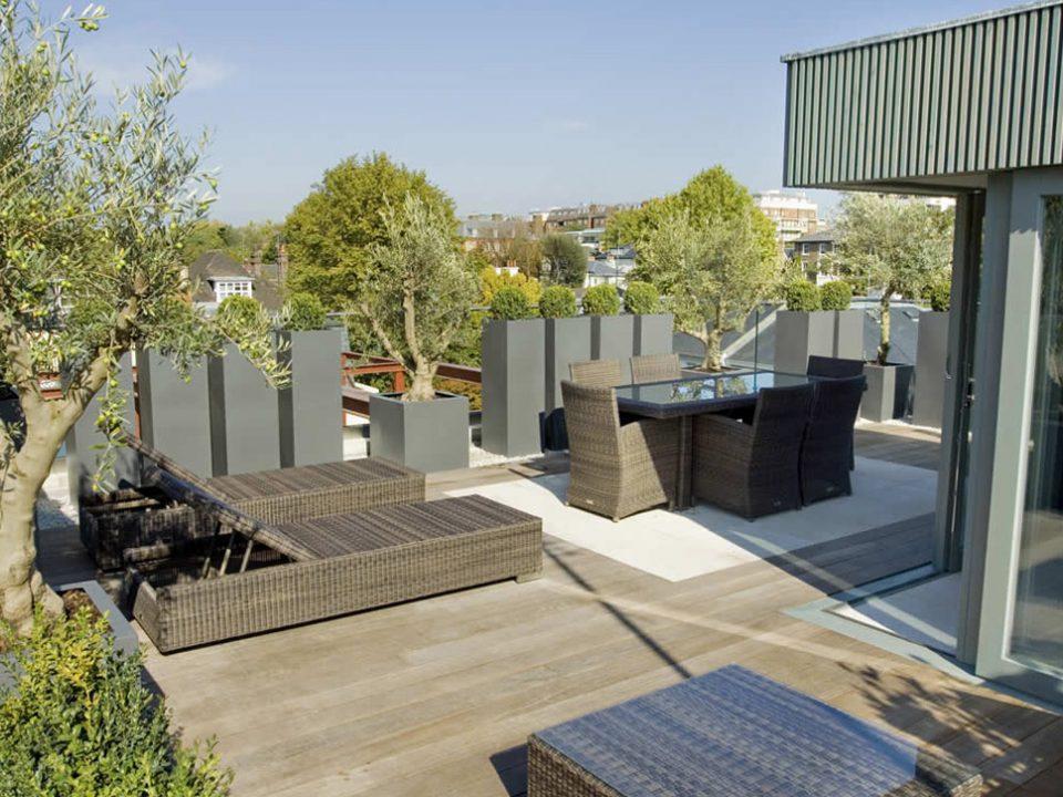 بام سبز Roof Garden - طراحان سبز